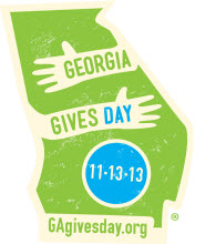 GA Gives Day is November 13, 2013.